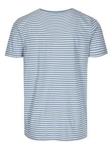 Modré pruhované tričko Selected Homme Max