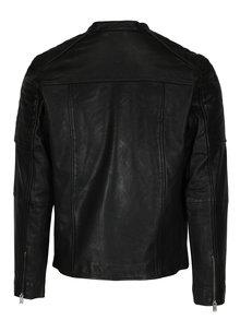 Jacheta neagra din piele -  Selected Homme Lloyd