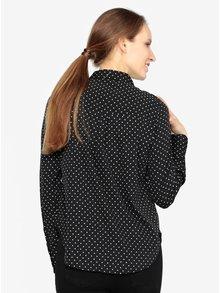 Krémovo-černá vzorovaná košile VERO MODA Nicky