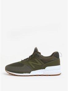 Khaki pánské tenisky New Balance MS574