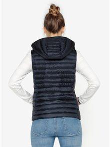 Tmavě modrá prošívaná vesta Tommy Hilfiger