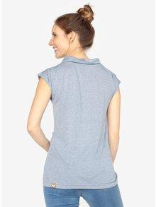 Modré tričko s krátkym rukávom Ragwear Lorna