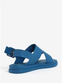 Sandale albastre cu aspect mat Melissa Free
