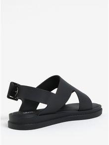 Sandale negre cu aspect mat Melissa Free