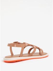 Sandale maro deschis impermeabile  Melissa Caribe Verao