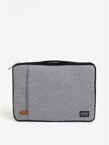 """Sivá melírovaná nepremokavá taška na notebook 15"""" PKG"""