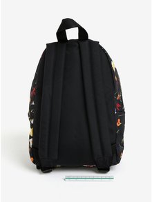Rucsac mic negru cu imprimeu floral pentru femei - Eastpak Orbit 10 l