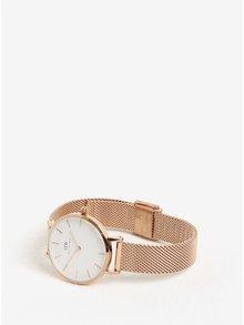 Dámské hodinky v růžovozlaté barvě Daniel Wellington