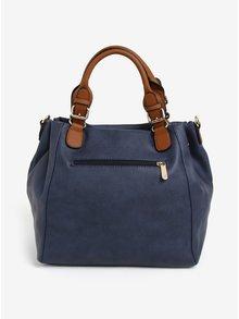 Tmavě modrá kabelka s přívěškem Bessie London