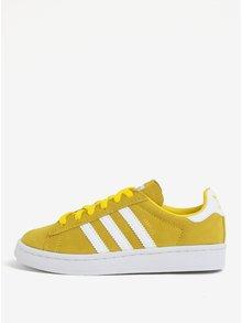 Horčicové detské smemišové tenisky adidas Originals CAMPUS C