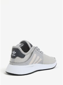 Sivé detské tenisky adidas Originals X_PLR C