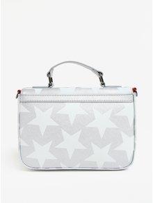 Geanta crossbody argintie cu print stele Paul´s Boutique Nicole