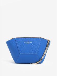 Geanta crossbody albastra cu model reptila Paul's Boutique Tasmin