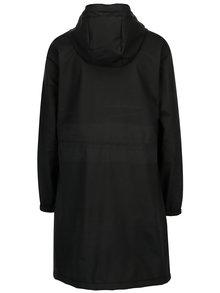 Čierny dámsky vodovzdorný tenký kabát Makia