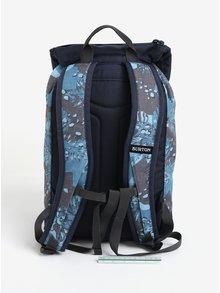 Modrý chlapčenský vzorovaný batoh s chlopňou Burton Youth Tinder 16 l