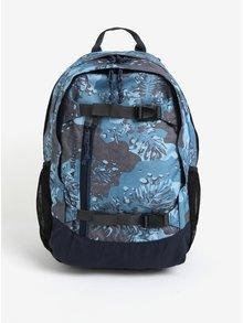 Modrý chlapčenský vzorovaný batoh Burton Youth Day Hiker 20 l