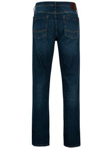 Tmavomodré pánske straight rifle Cross Jeans