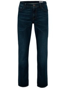 Blugi bleumarin straight fit cu aspect prespalat pentru barbati - Cross Jeans