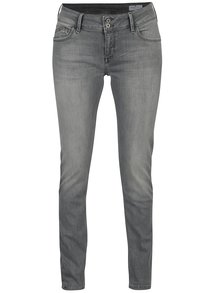 Sivé dámske skinny rifle Cross Jeans