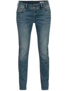 Blugi albastri skinny fit pentru femei - Cross Jeans