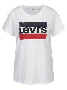 Biele dámske tričko s potlačou Levi's®