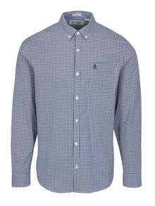 Camasa slim fit albastru&alb in carouri - Original Penguin Core Gingham