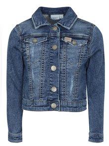 Modrá dievčenská rifľová bunda name it Fesa