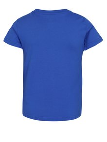 Modré chlapčenské tričko s potlačou adidas Originals