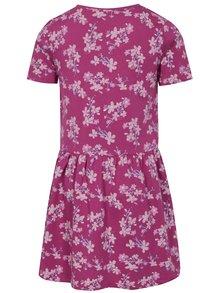 Ružové dievčenské vzorované šaty name it Vita