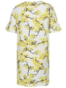 Žlto-krémové dievčenské šaty name it Diana