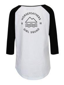 Bluza alb&negru pentru femei - Horsefeathers Linn