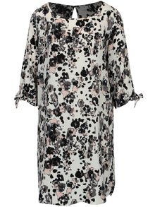 Krémové vzorované šaty Jacqueline de Yong Beyond