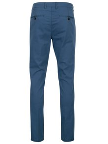 Modré modern fit chino nohavice Fynch-Hatton
