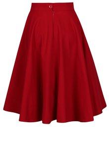 Červená kolesová sukňa SAINT DOT Lantern