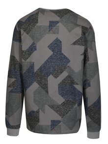 Bluza gri cu print geometric ONLY & SONS Kenneth