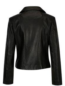 Jacheta biker din piele naturala pentru femei KARA Rose