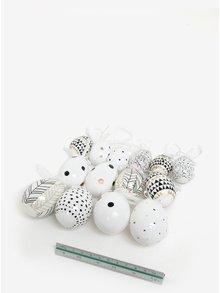 Set de oua decorative de agatat de diferite marini - Kaemingk