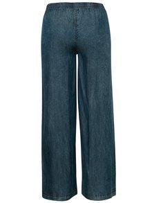 Modré lehké kalhoty s gumou v pase Tranquillo Prinsepia