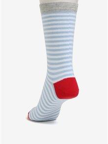 Sosete alb&albastru in dungi pentru femei - ZOOT