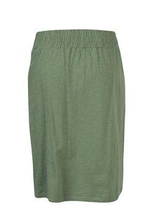 Fusta verde cu talie elastica  Tranquillo Leora