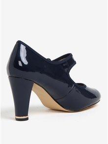 Pantofi bleumarin de lac cu catarama Dorothy Perkins