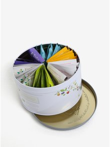 Sivá darčeková plechovka wellness čaju English Tea Shop Wellness