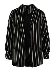 Čierno-krémové pruhované sako Dorothy Perkins