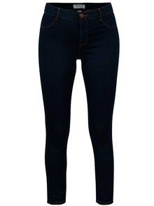 Modré zkrácené super skinny džíny Dorothy Perkins
