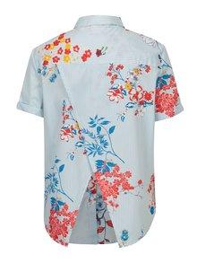 Krémovo-modrá košile s překříženým zadním dílem Noisy May Conansa