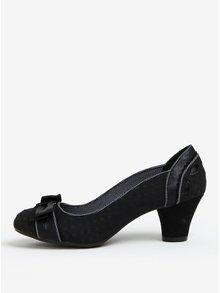 Černé vzorované lodičky Ruby Shoo Hayley