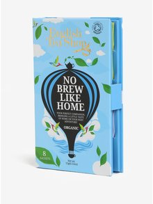 Modré darčekové cestovné balenie vrecúšok pre mužov bio English Tea Shop