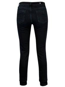 Tmavomodré dámske slim fit rifle Cross Jeans