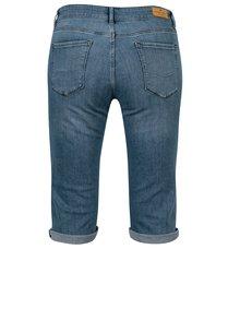 Pantaloni scurti din denim albastri slim fit pentru femei Cross Jeans