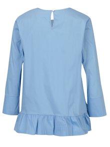 Bluza bleu cu volane - Rich & Royal